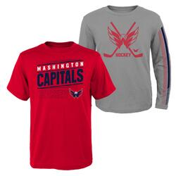 NHL 2-in-1 long sleeve t-shirt + t-shirt Junior