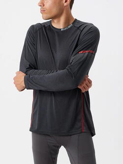 Bauer Essential Long Sleeve Base Layer Shirt Senior