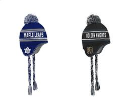 NHL Jacquard Tassel Knit With Pom junior