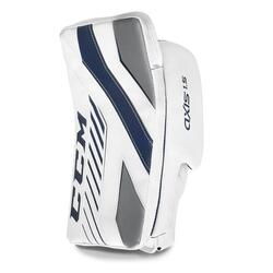 ccm axis 1.5 goalie blocker junior