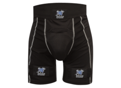 Blue Compression Jock Short m. velcro