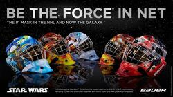 Star Wars Street Hockey Mask Yth