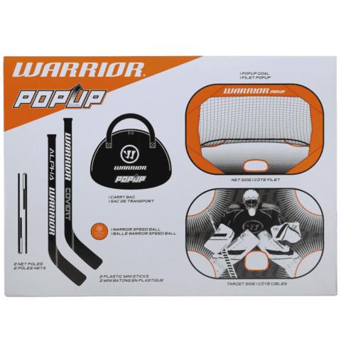 Warrior Mini Pop Up Net Kit + extra net