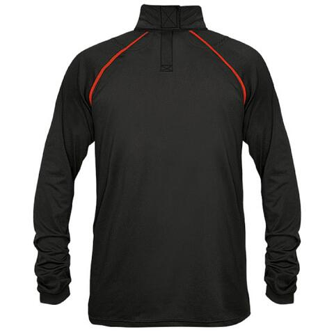 CCM Neckguard Long Sleeve Compression Top Junior