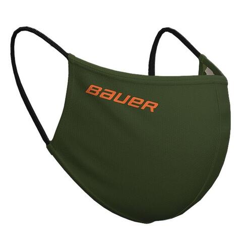 Bauer reversible fabric face mask