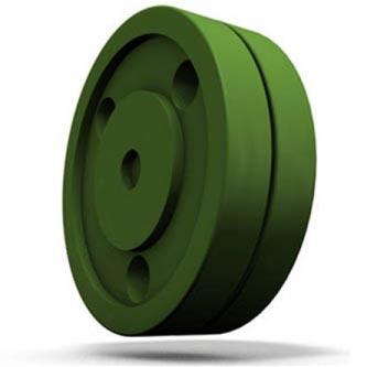 Green Biscuit Training Hockey Puck