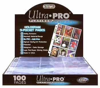 Ultra Pro hologram Pages