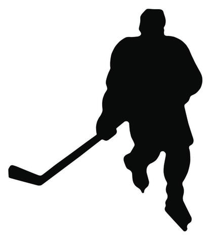 Hockey Player Magnet *NEW*