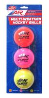 A&R Multi-Weather hockey balls